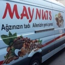 Lettrage camionnette pour une petite épicerie