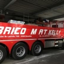 Lettrage camion pour un Brico