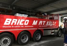 Habillage d'un camion pour un Brico